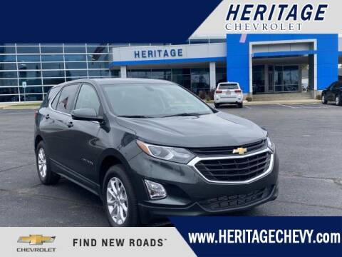 2018 Chevrolet Equinox for sale at HERITAGE CHEVROLET INC in Creek MI