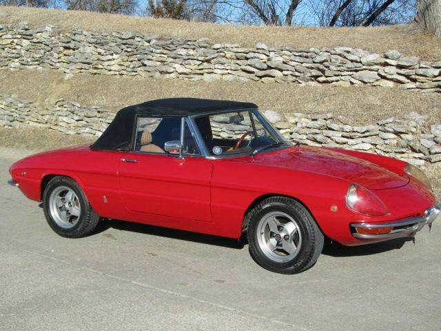 1969 alfa romeo spider - omaha, ne omaha nebraska convertible