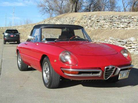 1969 Alfa Romeo Spider for sale at CLASSIC AUTO SALES INC in Omaha NE