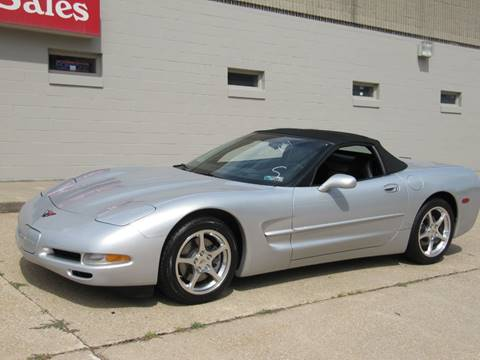 2000 Chevrolet Corvette for sale at CLASSIC AUTO SALES INC in Omaha NE