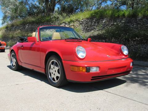 1991 Porsche 911 Carrera for sale at CLASSIC AUTO SALES INC in Omaha NE