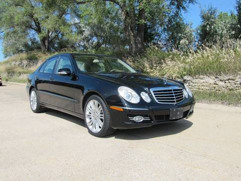 2008 Mercedes-Benz E-Class E 350 4MATIC for sale at CLASSIC AUTO SALES INC in Omaha NE