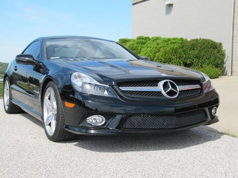 2011 Mercedes-Benz SL-Class SL 550 for sale at CLASSIC AUTO SALES INC in Omaha NE