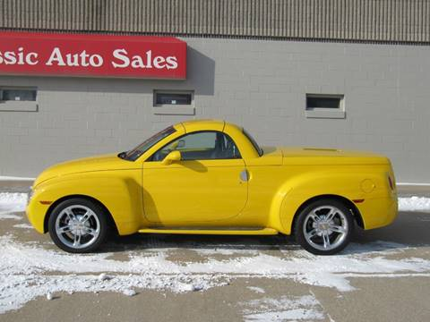 2005 Chevrolet SSR LS for sale at CLASSIC AUTO SALES INC in Omaha NE