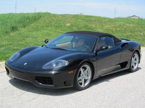 2001 Ferrari 360 Spider for sale at CLASSIC AUTO SALES INC in Omaha NE