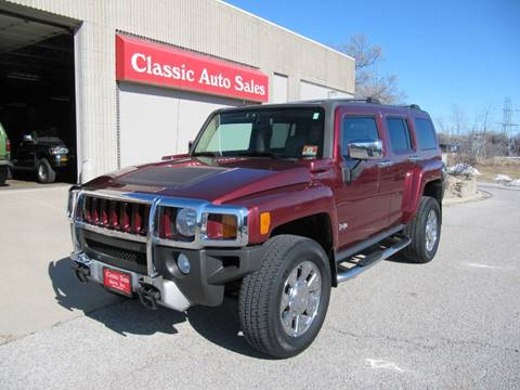 2009 HUMMER H3 H3X for sale at CLASSIC AUTO SALES INC in Omaha NE