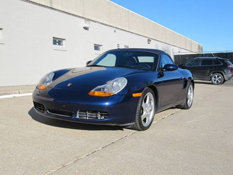 2001 Porsche Boxster S for sale at CLASSIC AUTO SALES INC in Omaha NE