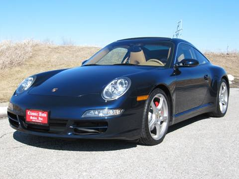 2008 Porsche 911 Targa 4S for sale at CLASSIC AUTO SALES INC in Omaha NE