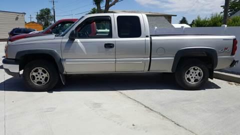 2004 Chevrolet Silverado 1500 for sale at Allstate Auto Sales in Twin Falls ID