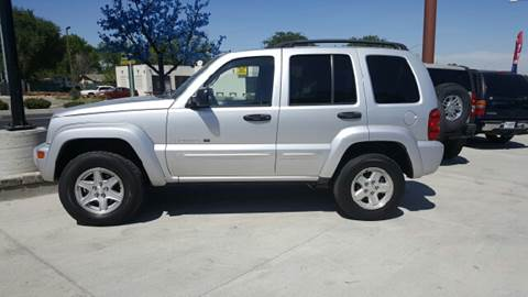 2002 Jeep Liberty Limited for sale at Allstate Auto Sales in Twin Falls ID