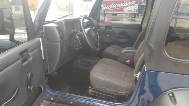 2005 Jeep Wrangler Sport 4WD 2dr SUV - Twin Falls ID
