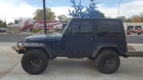 2005 Jeep Wrangler Sport for sale at Allstate Auto Sales in Twin Falls ID