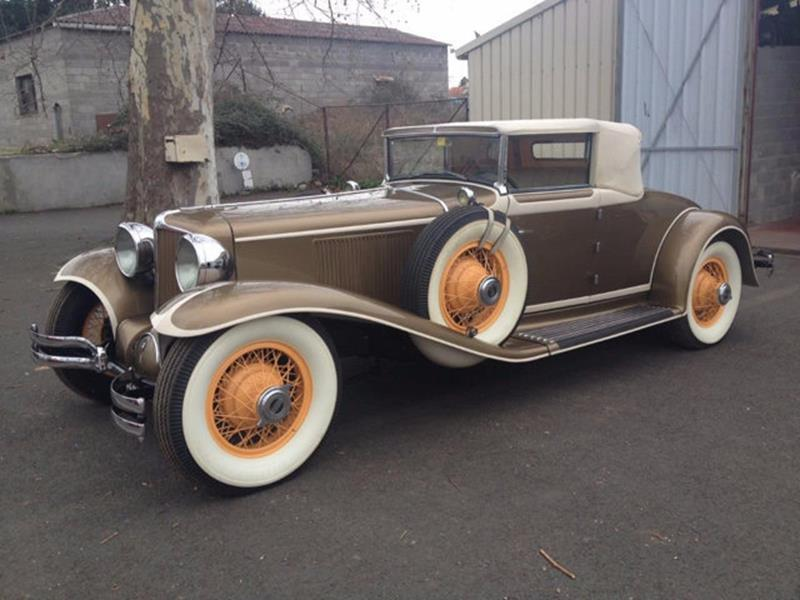 1929 Cord L29 Cabriolet 2 Seater For Sale In Long Island NY ...