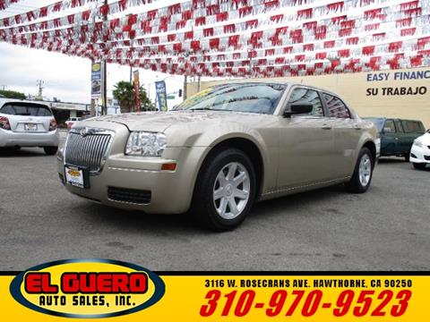 2008 Chrysler 300 for sale at El Guero Auto Sale in Hawthorne CA