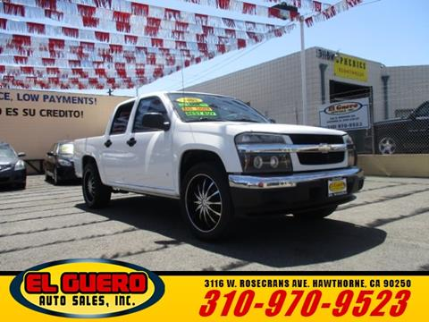 2007 Chevrolet Colorado for sale at El Guero Auto Sale in Hawthorne CA