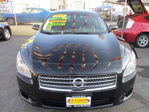 2010 Nissan Maxima for sale at El Guero Auto Sale in Hawthorne CA