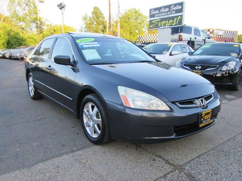 2005 Honda Accord EX V 6 4dr Sedan   Sacramento CA