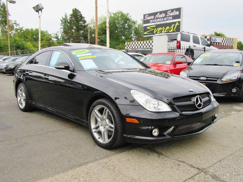 2006 mercedes benz cls cls 500 4dr sedan in sacramento ca everest auto center. Black Bedroom Furniture Sets. Home Design Ideas