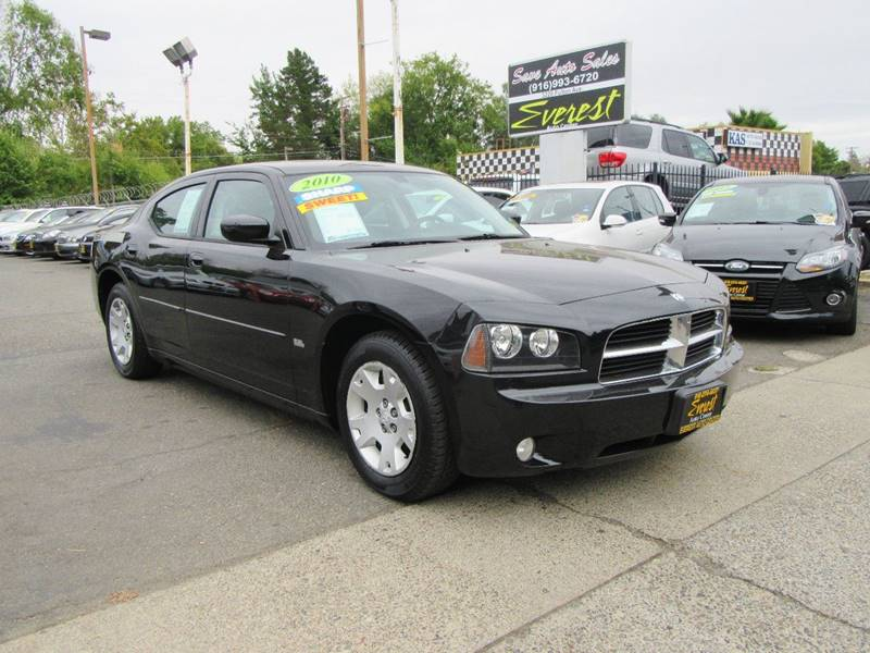2010 Dodge Charger SXT 4dr Sedan In Sacramento CA - Everest Auto Center