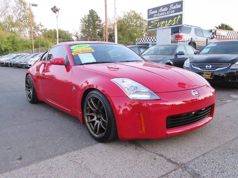 2005 nissan 350z touring 2dr coupe in sacramento ca everest auto 2005 nissan 350z touring 2dr coupe sacramento ca sciox Images