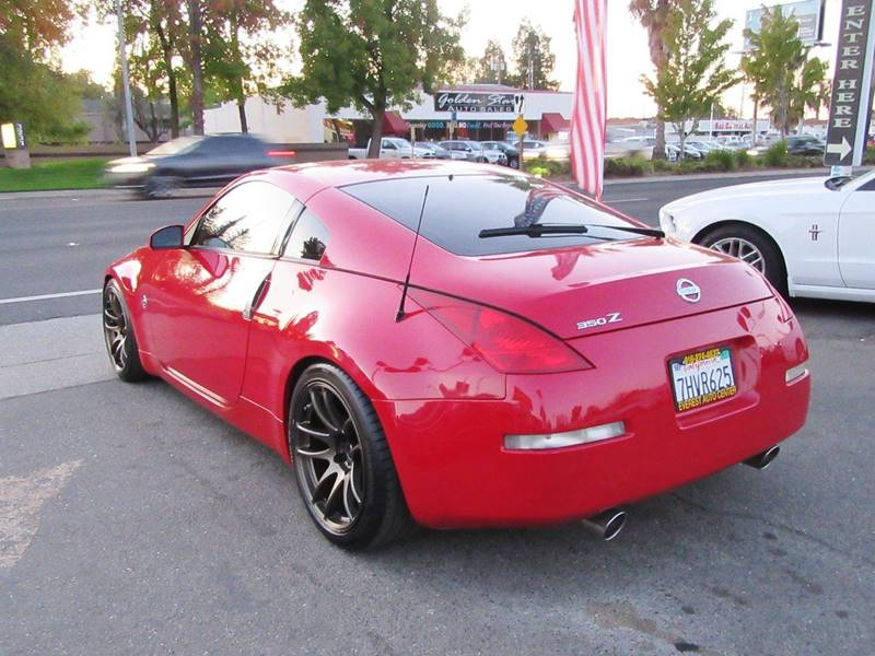 2005 nissan 350z touring 2dr coupe in sacramento ca everest auto sold sciox Image collections