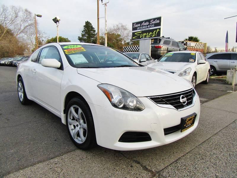 2012 Nissan Altima 2.5 S 2dr Coupe CVT   Sacramento CA