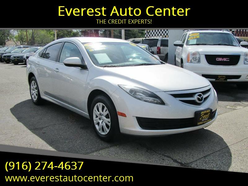 2013 Mazda Mazda6 i Sport 4dr Sedan 5A In Sacramento CA - Everest ...