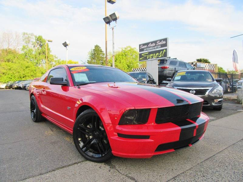 2007 Ford Mustang GT Deluxe 2dr Fastback In Sacramento CA - Everest ...