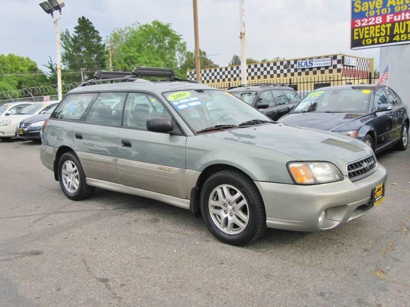 2003 Subaru Outback Awd 4dr Wagon In Sacramento Ca Everest Auto Center