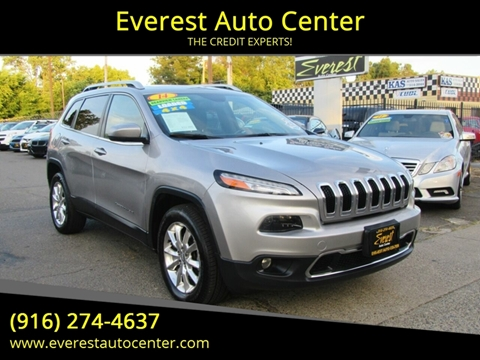 2014 Jeep Cherokee for sale in Sacramento, CA