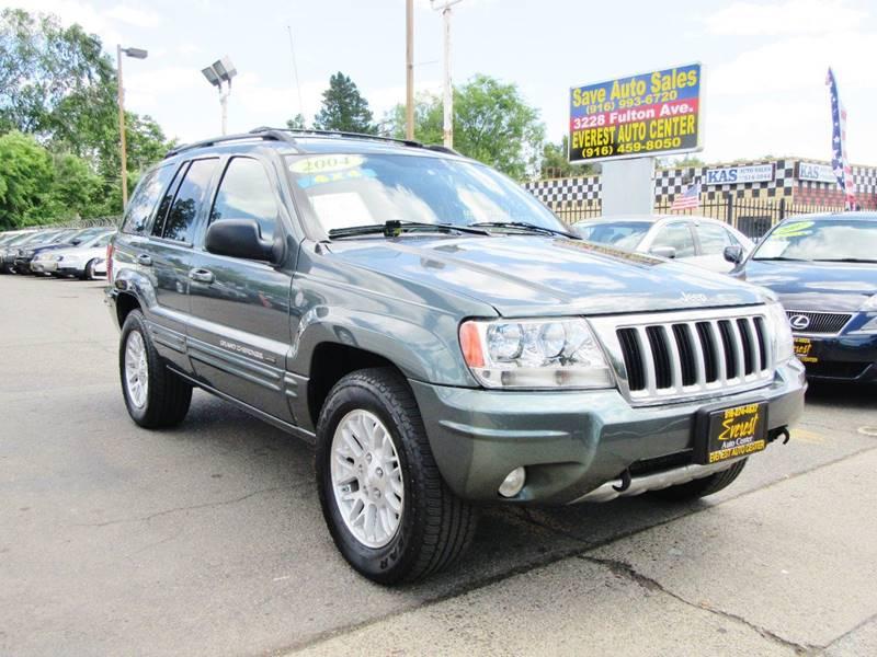 2004 Jeep Grand Cherokee Limited 4WD 4dr SUV W/HO V8   Sacramento CA