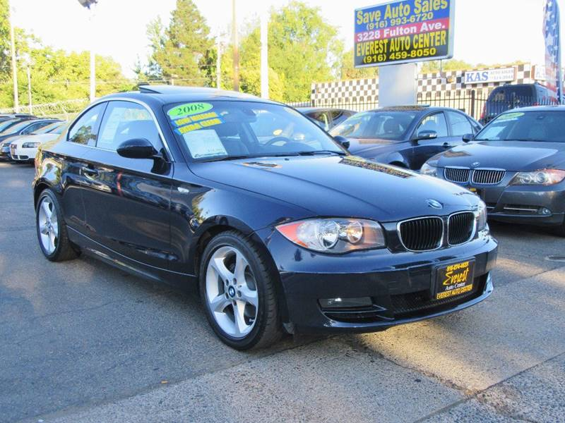 2008 bmw 1 series 128i 2dr coupe sulev in sacramento ca everest auto center. Black Bedroom Furniture Sets. Home Design Ideas