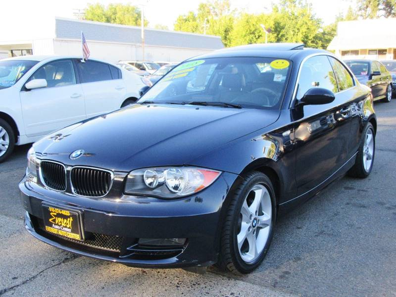 2008 Bmw 1 Series 128i 2dr Coupe SULEV In Sacramento CA - Everest ...