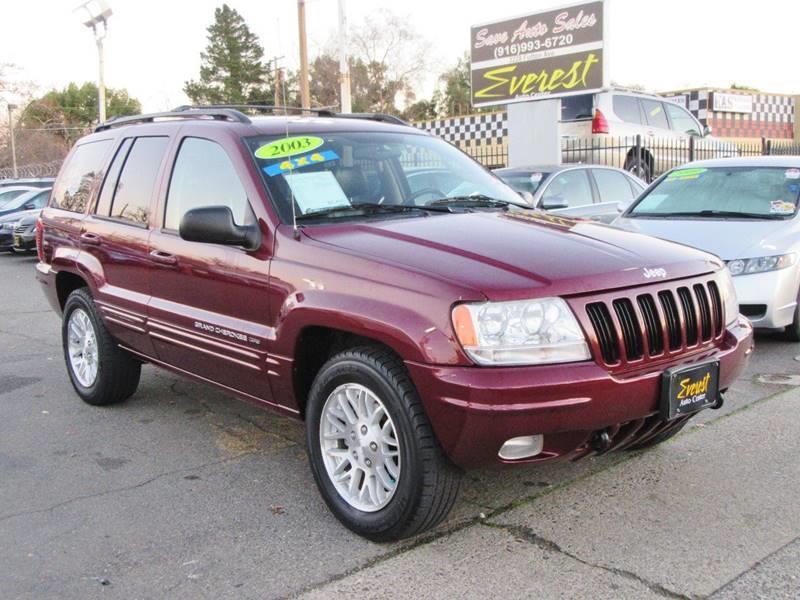 2003 Jeep Grand Cherokee Limited 4WD 4dr SUV   Sacramento CA