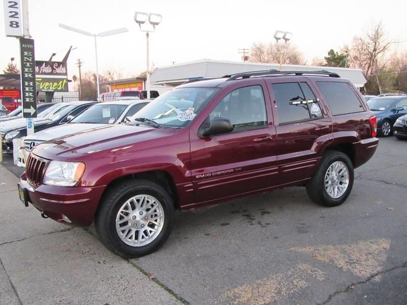 2003 jeep grand cherokee limited 4wd 4dr suv in sacramento. Black Bedroom Furniture Sets. Home Design Ideas