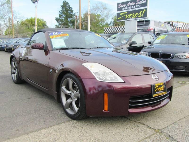2006 Nissan 350Z Touring 2dr Convertible (3.5L V6 6M) In Sacramento ...