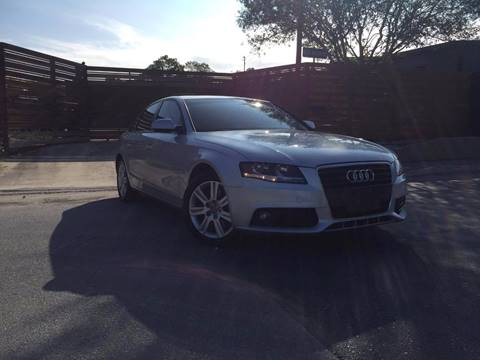 2010 Audi A4 for sale in San Antonio, TX