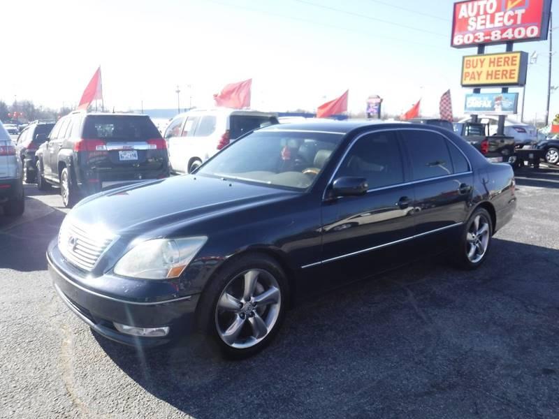 2004 Lexus LS 430 In Oklahoma City OK - Auto Select