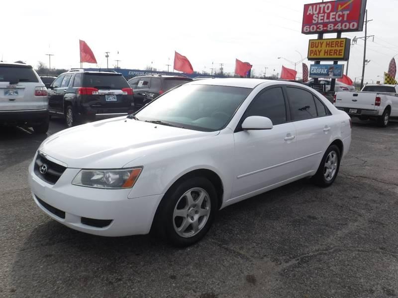 2008 Hyundai Sonata For Sale At Auto Select In Oklahoma City OK