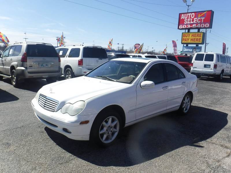 2002 Mercedes Benz C Class For Sale At Auto Select In Oklahoma City OK