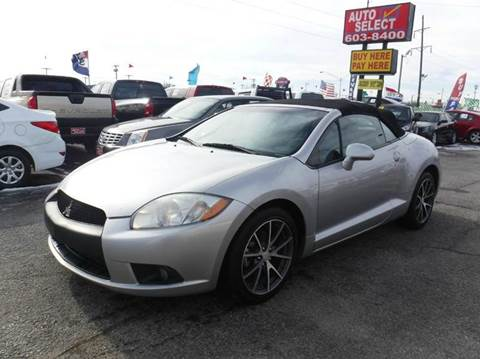 2012 Mitsubishi Eclipse Spyder for sale in Oklahoma City, OK