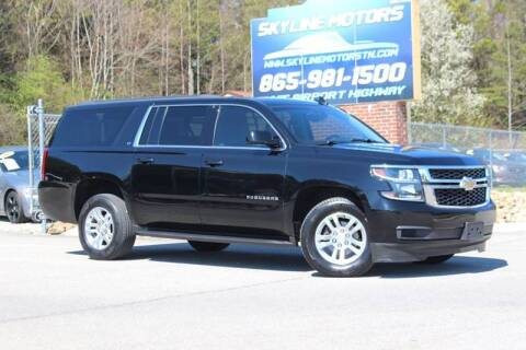 2018 Chevrolet Suburban for sale at Skyline Motors in Louisville TN