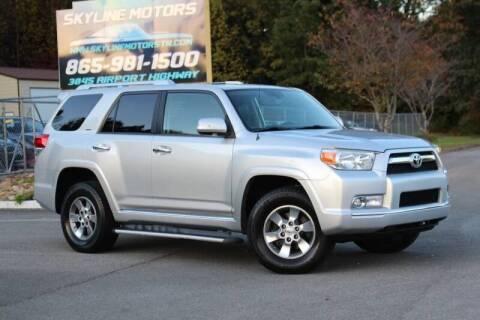 2010 Toyota 4Runner for sale at Skyline Motors in Louisville TN
