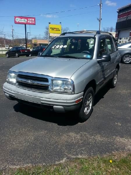 2004 Chevrolet Tracker for sale at Wildwood Motors in Gibsonia PA