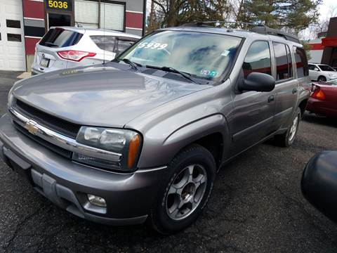 2005 Chevrolet TrailBlazer EXT LS for sale at Wildwood Motors in Gibsonia PA