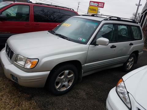 2001 Subaru Forester S for sale at Wildwood Motors in Gibsonia PA