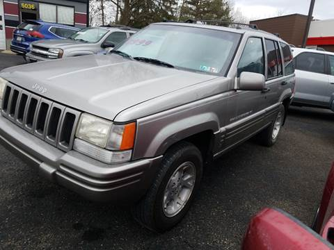 1997 Jeep Grand Cherokee Limited for sale at Wildwood Motors in Gibsonia PA