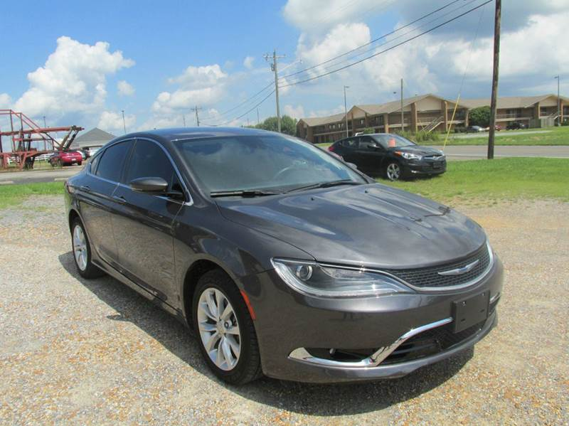 2015 Chrysler 200 for sale at Jerry West Used Cars in Murray KY