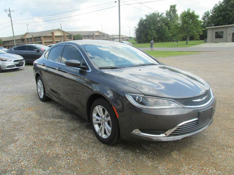 2016 Chrysler 200 for sale at Jerry West Used Cars in Murray KY