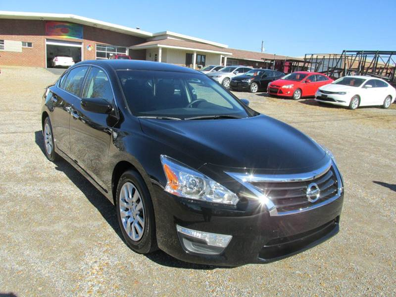 2015 Nissan Altima for sale at Jerry West Used Cars in Murray KY